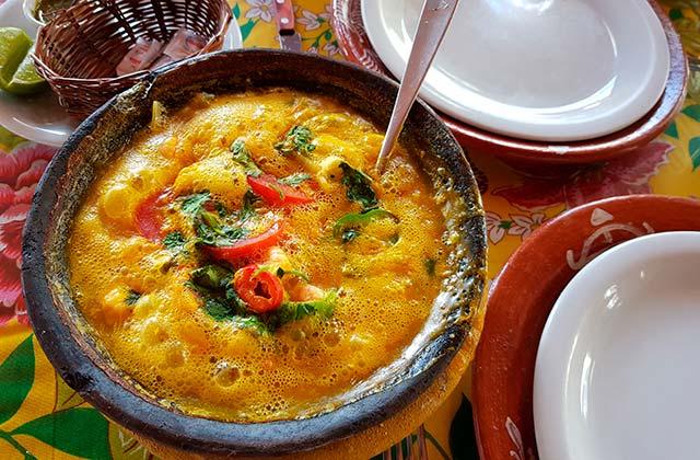 Lateinamerikanisches Restaurant in Marbella - Coco Bambu Torremolinos - moqueca de camarao