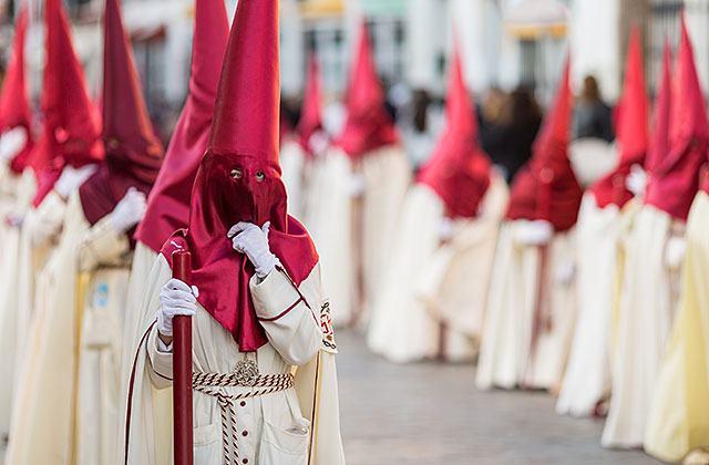 Semana Santa, Nazarenos