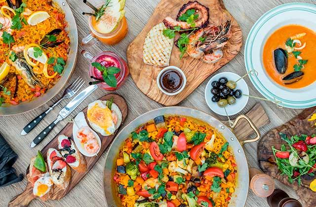 Vacaciones gastronómicas Andalucía