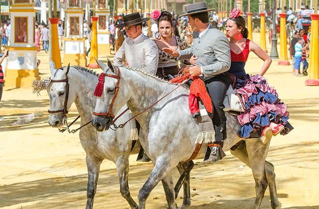 Feria del caballo Jerez - Crédito editorial: / Shutterstock.com