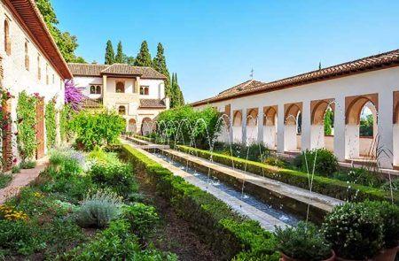 jardines de Andalucía, Generalife Granada