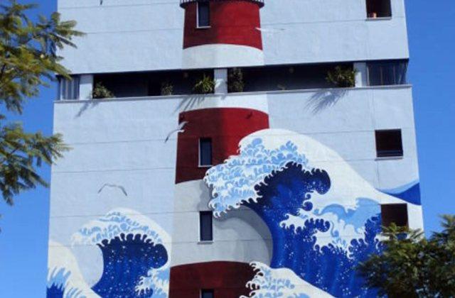 Route of Artistic Murals - 6 SEGUNDOS DE OSCURIDAD