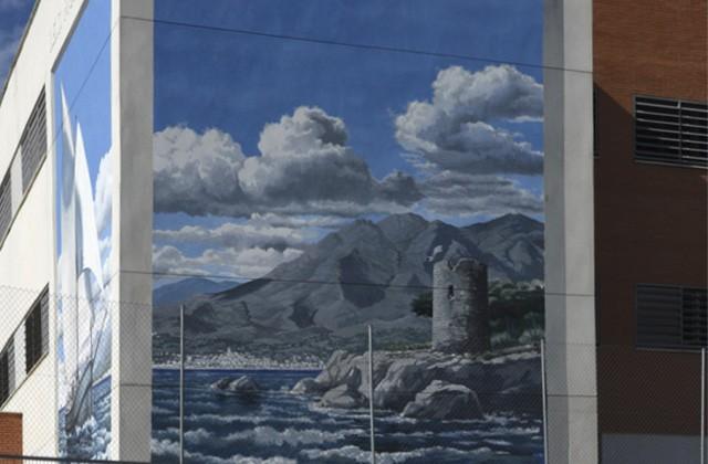 Route of Artistic Murals - Desde el mar