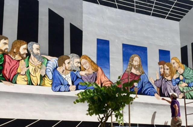 Route of Artistic Murals - LA ÚLTIMA CENA