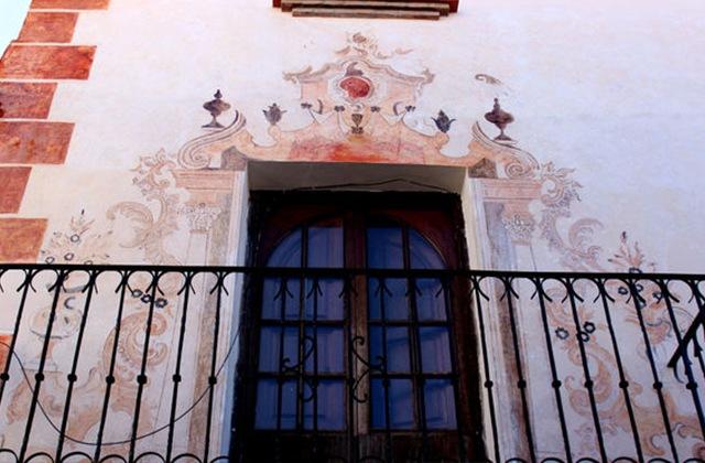 Route of Artistic Murals - FRESCOS DE LA CASA MONDÉJAR