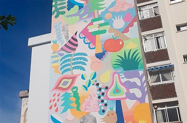 Ruta murales Estepona - el bosque de las maravillas