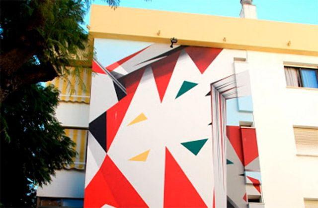 Murales de Estepona - La imagen vuelta