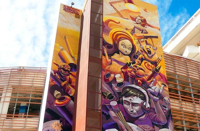 Murales de Estepona - Musas