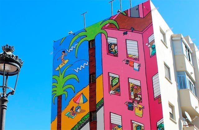 Murales de Estepona - Sin titulo