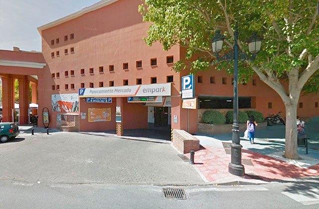 Aparcamiento del Mercado Municipal de Marbella