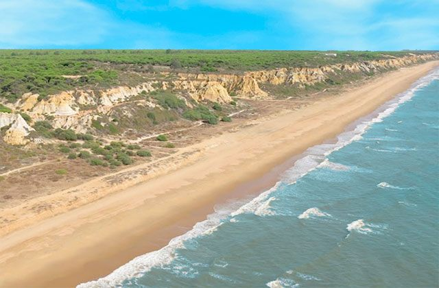 Playa de Rompeculos