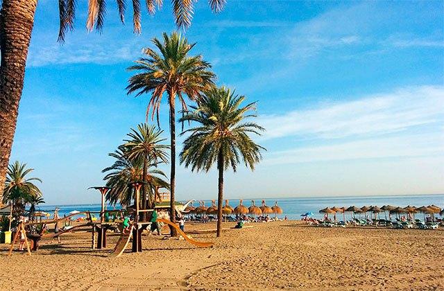 Playa de La Venus Marbella