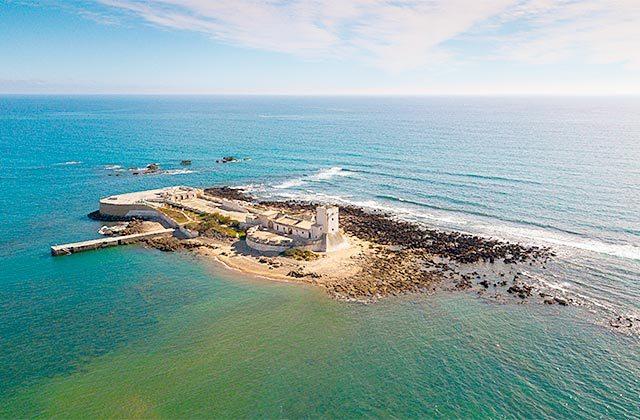 Isla y Castillo de Sancti Petri