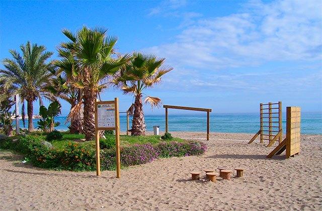 Strände in Andalusien - Playa de Carvajal en Fuengirola