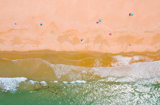 Costa de la Luz plages - Plage de el Palmar