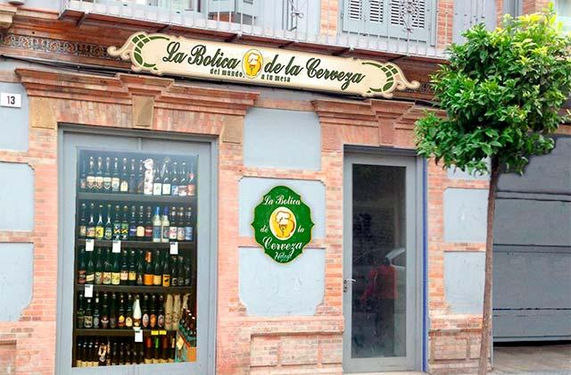 La botica de la cerveza Málaga