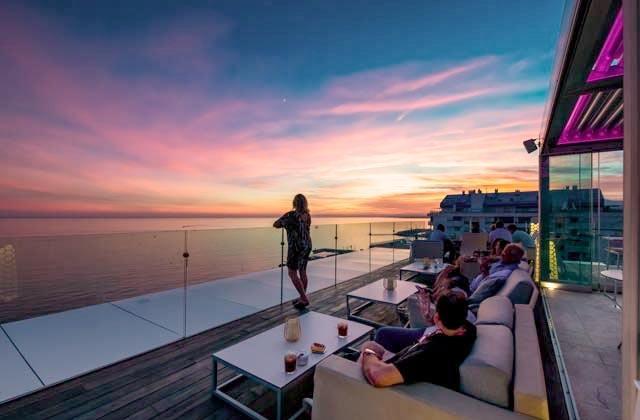 Rooftop bars de Andalucia - Belvue Roof Top Bar, Marbella