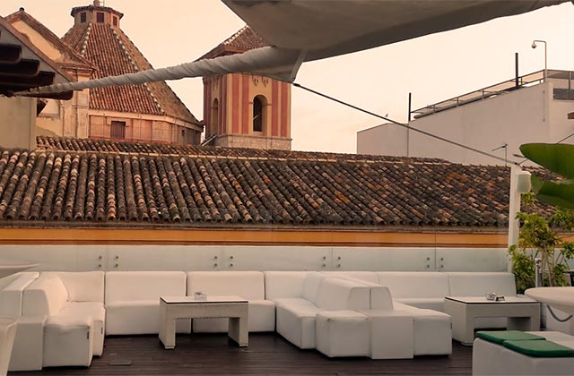 Rooftop bars of Andalucia - Oasis Backpackers Hostel