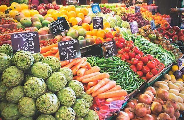 Productos ecológicos de Andalucía