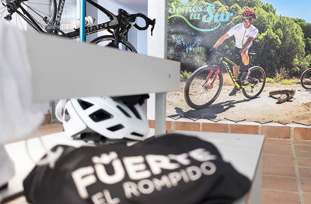 Centro ciclista Fuerte El Rompido