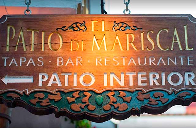 Marbella old town restaurants - Patio de Mariscal
