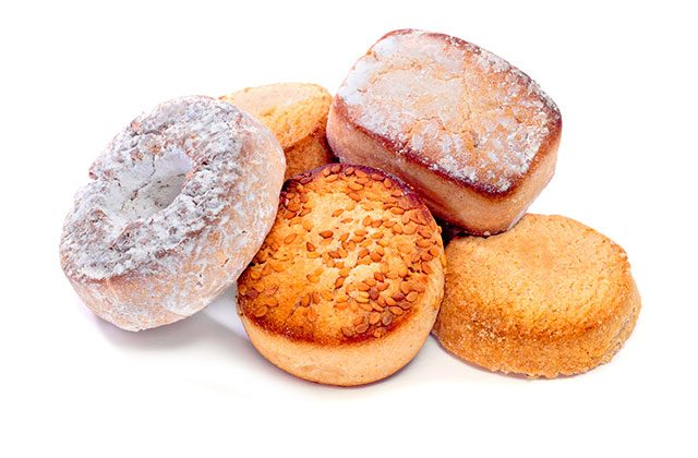 Christmas sweets in Andalucia - mantecados