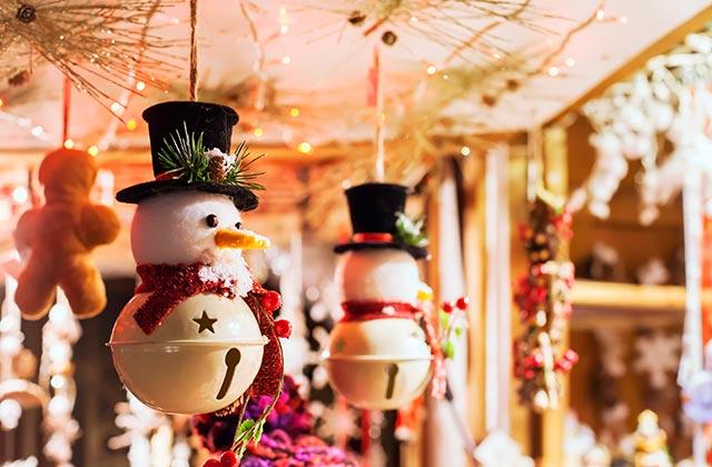 Mercado de navidad en Estepona