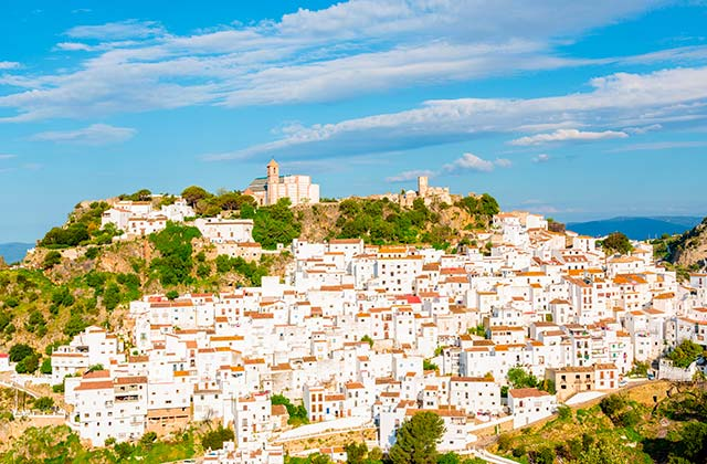 villages in Andalucia - Casares - Málaga