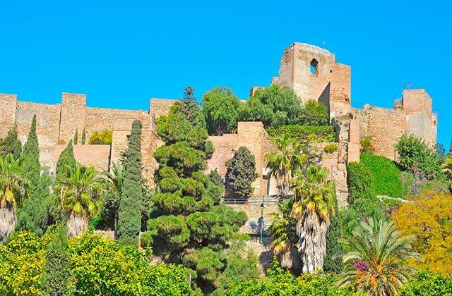 Castillo de Gibralfaro, Málaga