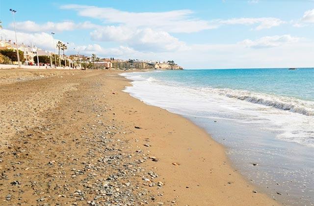 Playas de la Costa del Sol - Playa Arroyo Totalán de Málaga