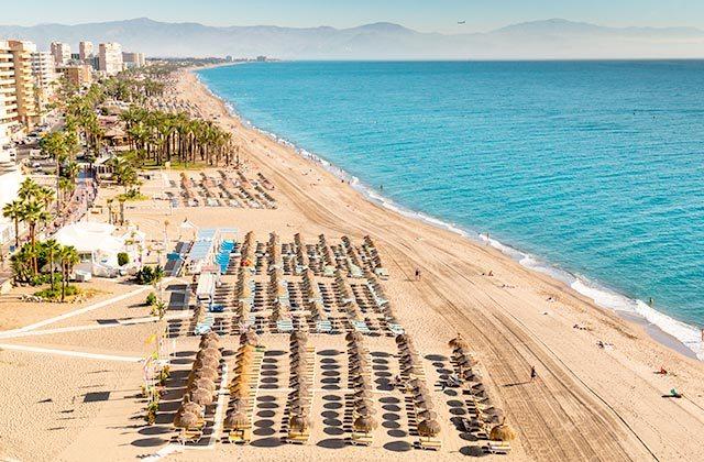 Playas de la Costa del Sol - Playa del Bajondillo, Torremolinos