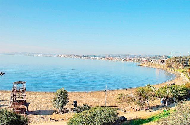 Playas de la Costa del Sol - Playa del Cristo, Estepona