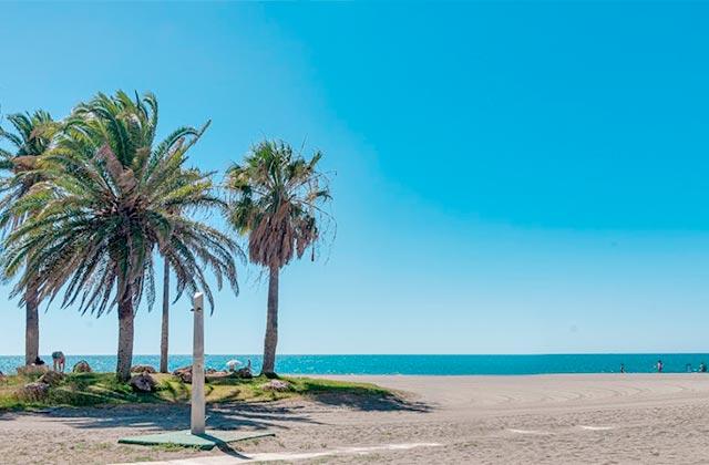 Playas de la Costa del Sol - Playa de Los Álamos, Torremolinos