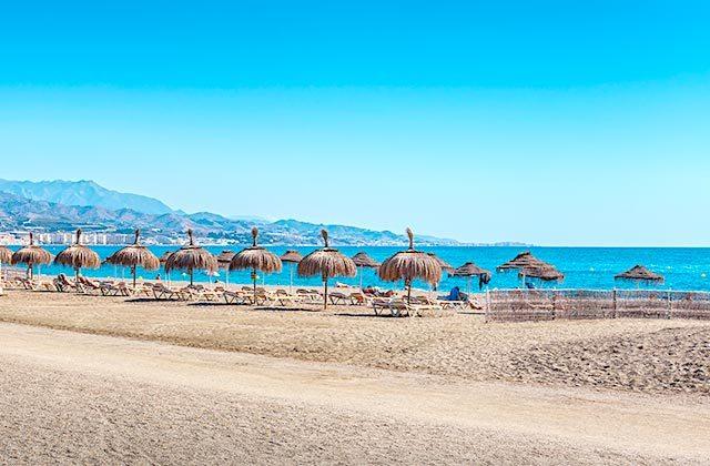 Playas de la Costa del Sol - playa de Torre del Mar - Editorial credit: BAHDANOVICH ALENA / Shutterstock.com