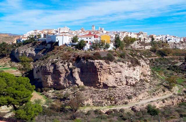 villages de l'Andalousie- Sorbas, Almería
