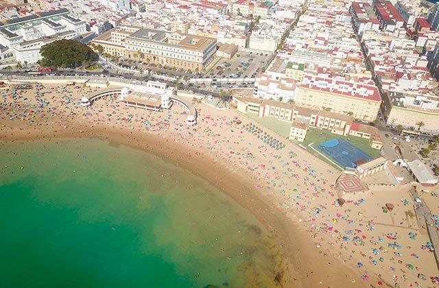 Costa de la Luz plages - Plage de La Caleta