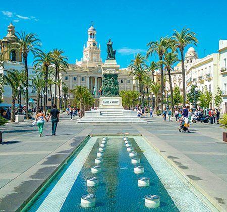 Cadiz, Plaza San Juan de Dios