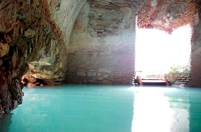 Imperio Romano en Andalucia - Baños romanos de la Hedionda en Manilva y Casares (Málaga)