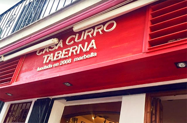 Marbella old town restaurants - Casa Curro