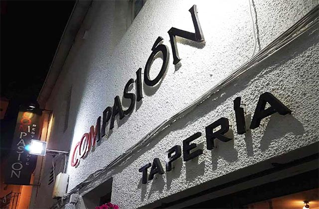 Marbella old town restaurants - Conmpassion