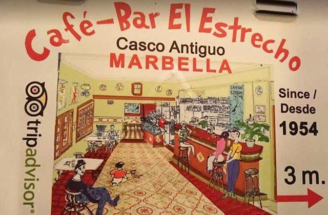 Restaurants in Marbella Altstadt - El Estrecho