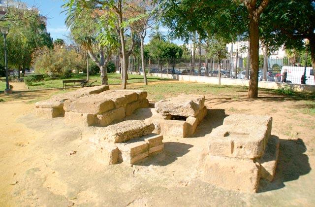 Andalusiens Römischen Reiches - Necrópolis romana (Cádiz)