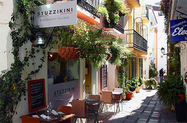 Restaurants dans la vieille ville de Marbella - Stuzzikini