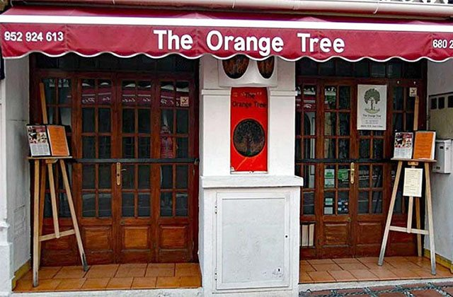 restaurantes en el casco antiguo de Marbella - The Orange Tree