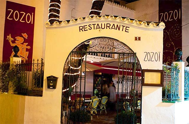 Marbella old town restaurants - Zozoi