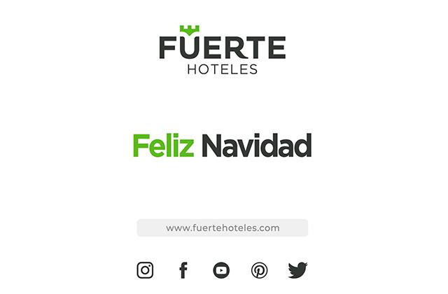 Fuerte Group Hotels felicita la Navidad a sus clientes