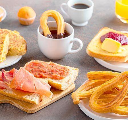 desayunos en Andalucía
